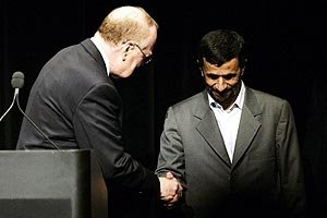 The clear loser from Ahmadinejad's visit is Israel