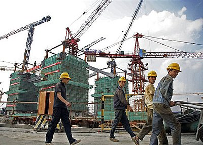 China's economy showed strong signs of growth in the first quarter of 2010