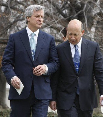 Jamie Dimon and Lloyd Blankfein: agents of the anti-Christ?