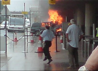 The 'terror attack' at Glasgow airport
