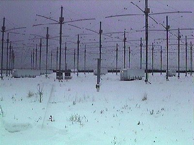 HAARP antenna in Alaska