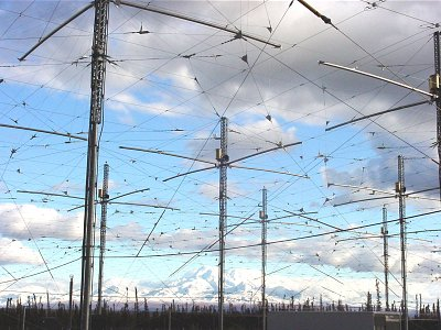 HAARP antennae in Alaska