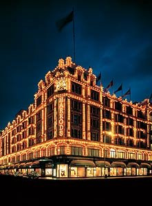Christmas at Harrods