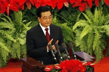 China's Hu Jintao