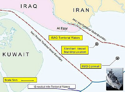 How I know Blair faked Iran map