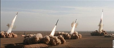 Iranian war games last November when more Iranian manufactured missiles were fired.