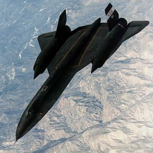 The Lockheed SR 71