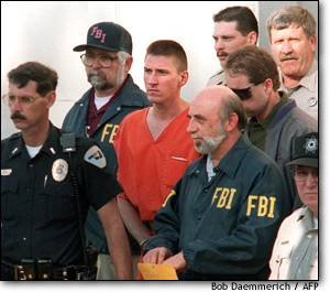 McVeigh during his trial.