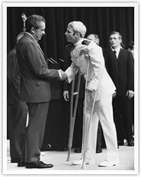 McCain meets President Nixon