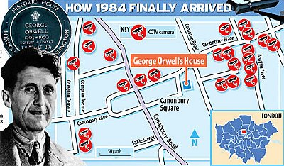 Foresight: The cameras crowd George Orwell's former London home
