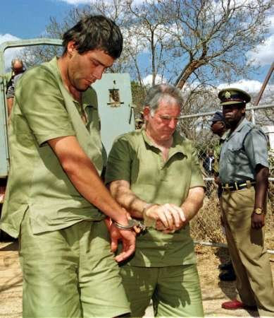 White Zimbabwean farmers arrested for defying Mugabe's policy of land 'redistribution'