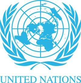 The inner emblem logo of the United Nations has 33 sections.