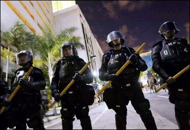 Police in Miami recently