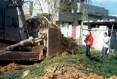Rachel Corrie had tried to stop the demolition of Palestinian homes by armoured Israeli bulldozers
