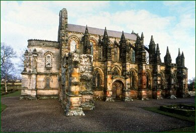 Built before Columbus set sail for the Americas, Rosslyn Chapel's interior contains many stone carvings of corn, only found in America after its official 'discovery in 1492