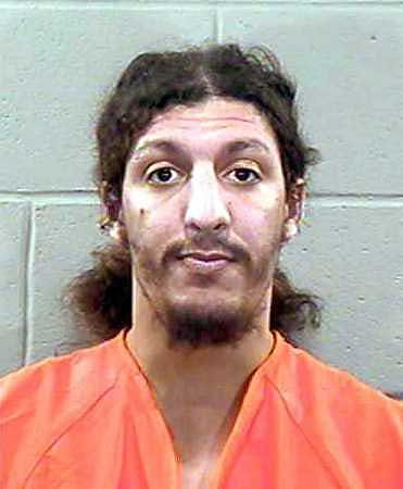 Richard Reid, the alleged 'shoe bomber', in a police ID photo.