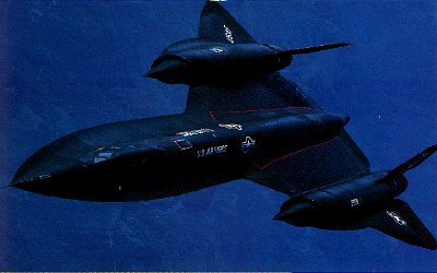 The hypersonic Lockheed SR 71