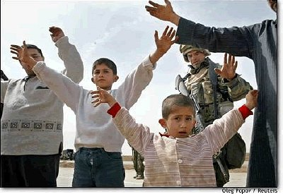 US Troops Hold Children Hostages in Northern Iraq: Police