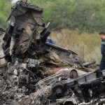 MH17 wreckage. Click to enlarge