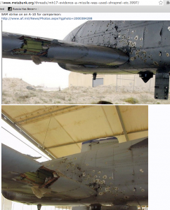 SAM strike on A-10 for comparison. Click to enlarge