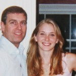 Virginia Roberts with Prince Andrew in London in 2001, when she was 16. Click to enlarge