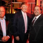 Donald Trump is the front-man for the Israeli Michael Dezertzov (left) and his son Gil (right). Why is Trump working with Israelis and what does that say about his ability to speak freely about what happened on 9-11? Click to enlarge