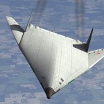 Artist impression of Russia's hypersonic stealth bomber. Click to enlarge