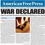 American Free Press on the online censorship. Click to enlarge