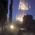 US led Coalition planes drop White Phosphorus over Raqqa in 2017.