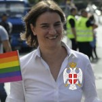 Serbia's first female and openly gay Prime Minister Ana Brnabić attracted the attention of the Bilderberg elite. Click to enlarge