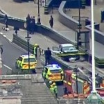Car hits pedestrians outside UK parliament in suspected terrorism attack