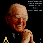 Norman Vincent Peale. Click to enlarge