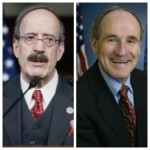Democrat Representative Eliot Engel and Republican Senator James Risch. Both of these men have just been elected president of the Foreign Affairs Committee for their respective assemblies.