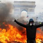 Chaos Breaks Out As Yellow Vests Clash With French Police