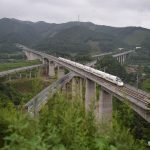 Chinese bullet train.