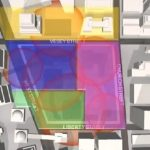 The WTC debris site was divided between four contracters with the sites of the three demolished towers all going to foreign-owned companies. Amec, from Britain (blue) got the North Tower and Customs House (WTC 6); Bovis, also from Britain (green) got the South Tower area; Turner, owned by Hochtief from Germany (yellow) got WTC 7, and Tully, the only American company (pink) got WTC 4 and 5. This means that the three buildings that were demolished (WTC 1,2, and 7) - crime scenes of the worst mass murder in U.S. history - were all cleaned up by foreign-owned companies. Click to enlarge