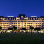 Hotel Montreux Palace, Montreux, Switzerland. click to enlarge