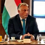 Orban at the Budapest Christian conference in Budapest.