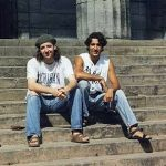 Gerald Butts and Justin Trudeau-Castro, at McGill in the 1990s