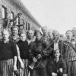 Prisoners in the Warsaw concentration camp. Click to enlarge