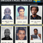 Sweden's most wanted list. Click to enlarge