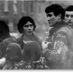 Cap Captain Robert Nairac fraternizing with locals in the Ardoyne area of Belfast a few months before his death