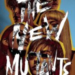 """This is a poster for the new Marvel film """"The New Mutants"""". Each actor has one eye hidden. Click to enlarge"""