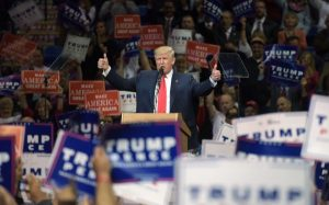 The big Trump rallies you don't see